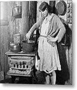 The Teenage Daughter Of A An Metal Print by Everett
