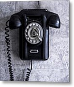 The Telephone. Metal Print