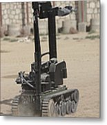 The Teodor Heavy-duty Bomb Disposal Metal Print