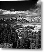 The Tetons Metal Print