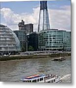 The Thames London Metal Print