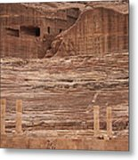 The Theater Carved Out Of A Rock Wall Metal Print by Taylor S. Kennedy