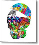 The Thought Escapes Me Metal Print