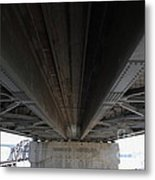 The Three Benicia-martinez Bridges In California - 5d18842 Metal Print