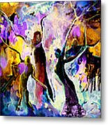 The Three Grace From Spain Metal Print