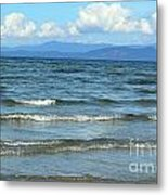 The Tide Was High Metal Print
