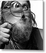The Token Hippie Metal Print