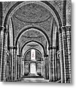 The Tombs At Fontevraud Abbey   France Metal Print