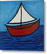 The Toy Boat Metal Print