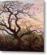 The Tree Of Crows Metal Print