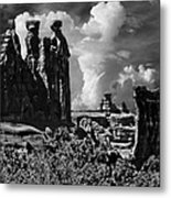 The Tribunal Arches National Park Metal Print