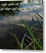 The Truth Factor Metal Print