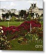 The Tuilleries Garden In Paris Metal Print