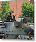 The Turret Of The Leopard 1a5 Main Metal Print