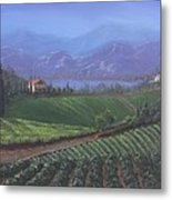 The Tuscanesque Valley Metal Print