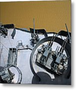 The Twin Bofors 40mm Anti-aircraft Metal Print by Michael Wood