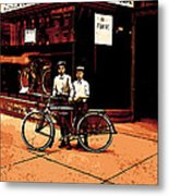 The Two Boys Metal Print