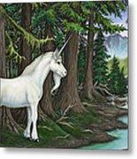 The Unicorn Myth Metal Print