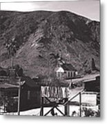 The Upper Village Of Calico Ghost Town Metal Print