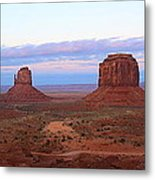 The Valley Drive Metal Print