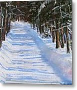 The Valley Road Metal Print