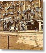 The Vaudeville Theatre In Shamokin Pa Around 1910 Metal Print