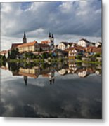 The Village From The Lake Metal Print by Maremagnum