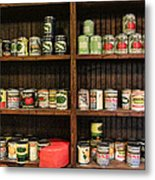 The Vintage Pantry At Vulcan Metal Print