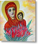 The Virgin And The Child Metal Print
