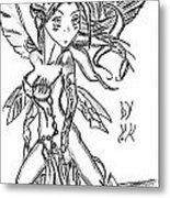 The Voluptuous Fairy  Metal Print