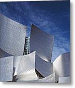 The Walt Disney Concert Hall, By Frank Metal Print