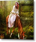 The Waterhole Metal Print