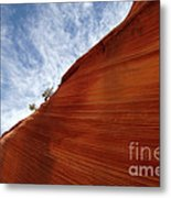 The Wave A Bit Of Heaven Metal Print