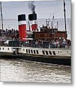 The Waverley Paddle Steamer Metal Print