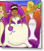 The Wedding Party Metal Print by Melisa Meyers