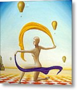 The Weightless Dance Metal Print