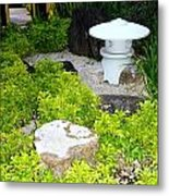 The Welcoming Garden Metal Print