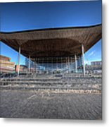 The Welsh Assembly Building 2 Metal Print