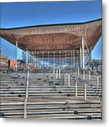 The Welsh Assembly Building Metal Print