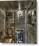 The West Virginia State Penitentiary Cell Metal Print