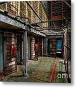 The West Virginia State Penitentiary Cells Metal Print