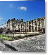 The West Virginia State Penitentiary Courtyard Outside Metal Print