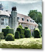 The West Wing Of Historic Hall Place  Metal Print