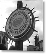 The Wharf Metal Print