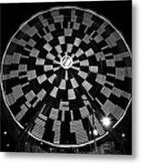 The Wheel That Ferris Built Metal Print