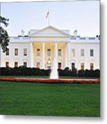 The White House  Metal Print