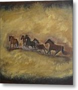 The Wild And Free Ones Metal Print