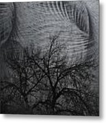 The Wind And Its Cuts Metal Print