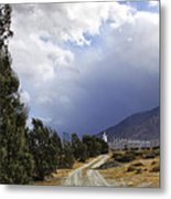 The Wind Journey Palm Springs Metal Print