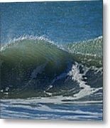 The Windblown Wave Metal Print